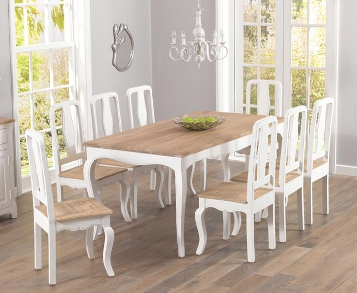Astounding Shabby Chic Dining Tables And Chairs 72 About Remodel Within 2017 Shabby Chic Dining Sets (Image 2 of 20)