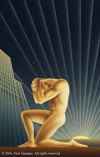 "Atlas Shrugged,"" Nick Gaetano; Quent Cordair Fine Art Within Atlas Shrugged Cover Art (Image 7 of 20)"