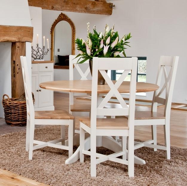 Attractive Round Table And Chair Set With Wonderful Round Dining Throughout Best And Newest Round Oak Dining Tables And Chairs (View 15 of 20)