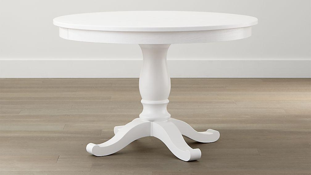 Featured Image of White Round Extendable Dining Tables