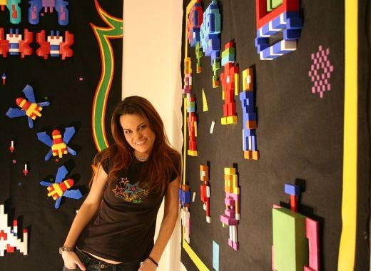 Awesome Arcade Game Artmelissa Jones – Technabob With Regard To Arcade Wall Art (View 10 of 20)