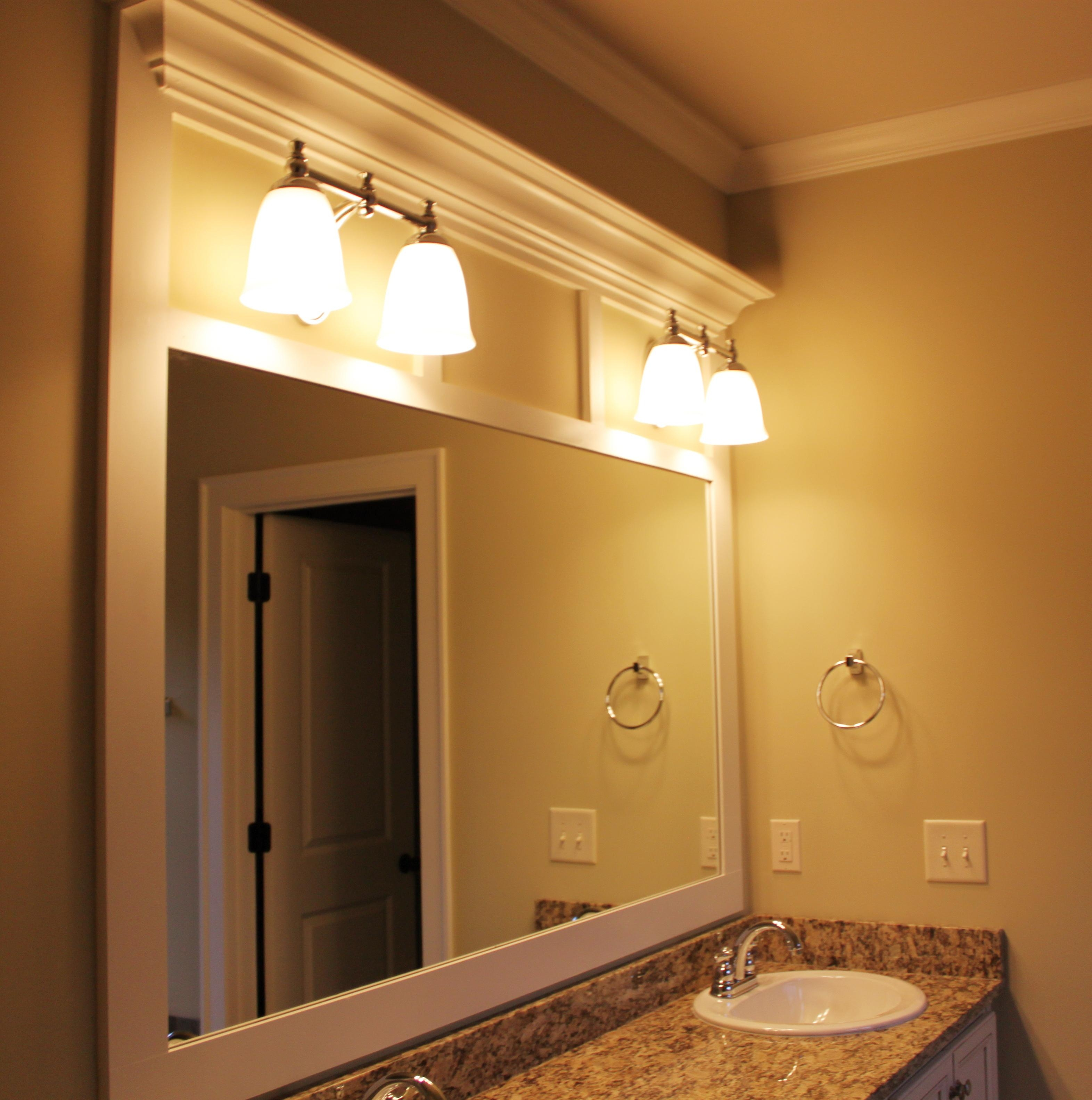 20 best collection of custom sized mirrors mirror ideas for Custom size mirrors bathrooms