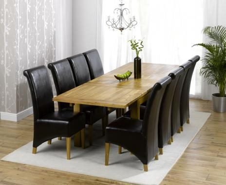 Awesome Dining Room Tables With 8 Chairs 72 On Dining Room Table Within Recent Dining Tables 8 Chairs (Image 5 of 20)