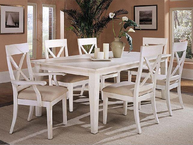 Awesome Idea White Dining Table Set | All Dining Room With White Dining Sets (Image 2 of 20)