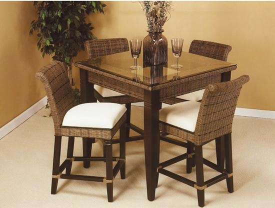 Bali Rattan Dining Suite From Summit Design | Stained Wicker With Most Up To Date Bali Dining Sets (Image 6 of 20)