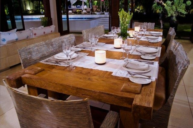 Balinese Dining Table | Elitecraft (Image 4 of 15)