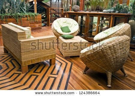 Bamboo Furniture Stock Images, Royalty Free Images & Vectors For Bamboo Sofas (Image 5 of 20)