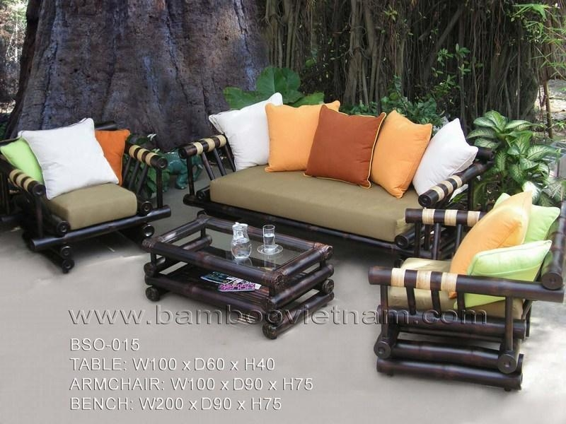 Bamboo Sofa – Bambu Decor Inside Bamboo Sofas (Image 7 of 20)