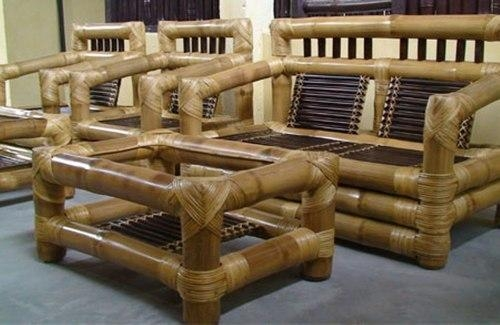 Bamboo Sofa Manufacturer From Guwahati With Bamboo Sofas (Image 9 of 20)