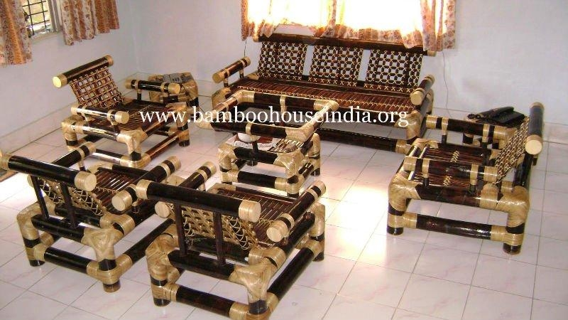 Bamboo Sofa Set – Buy Bamboo Furniture Product On Alibaba Pertaining To Bamboo Sofas (Image 10 of 20)