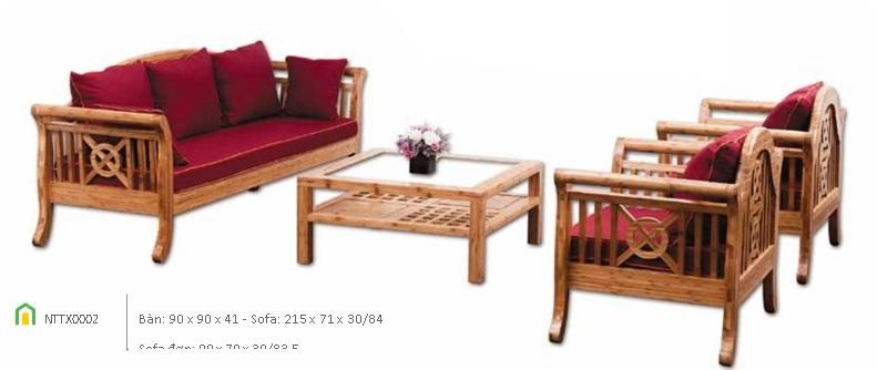 Bamboo Sofa Set Design, Bamboo Sofa Set Design Suppliers And Pertaining To Bamboo Sofas (Image 11 of 20)