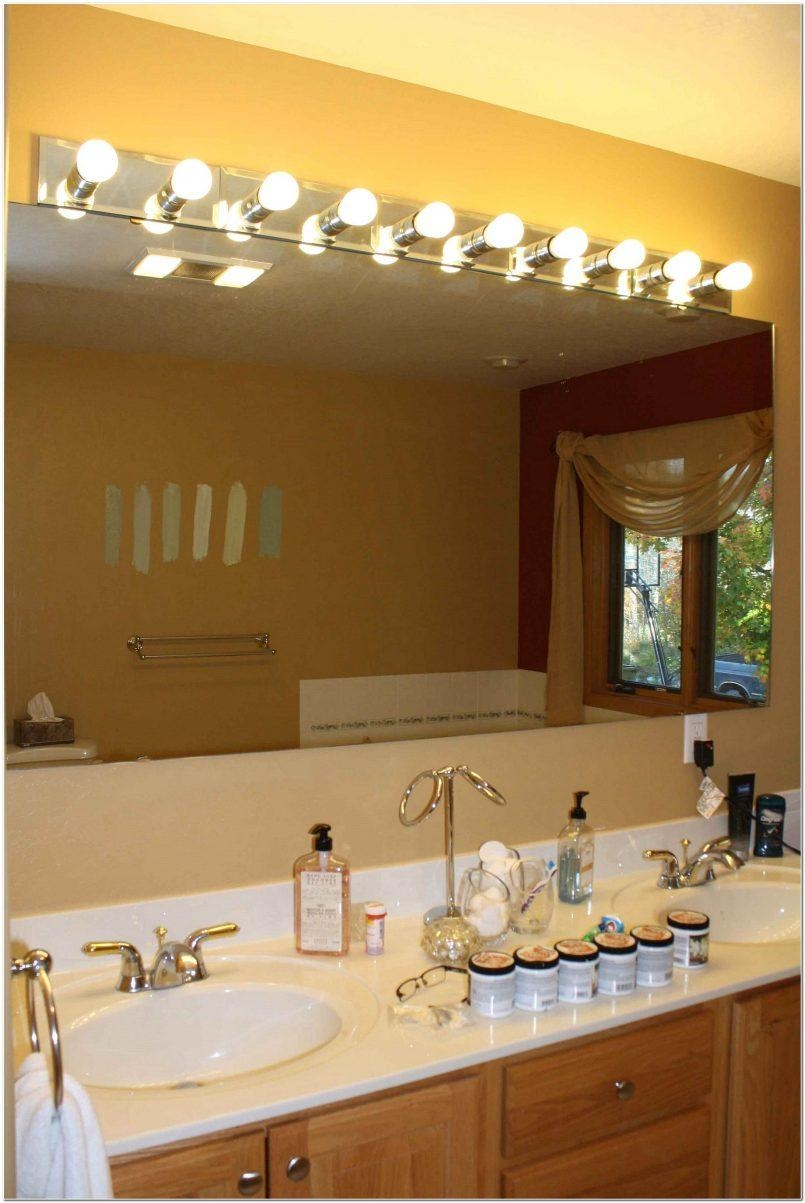 Bathroom : Awesome Ikea Vanity Mirror With Lights Lighted Makeup With Lights For Bathroom Mirrors (View 9 of 20)