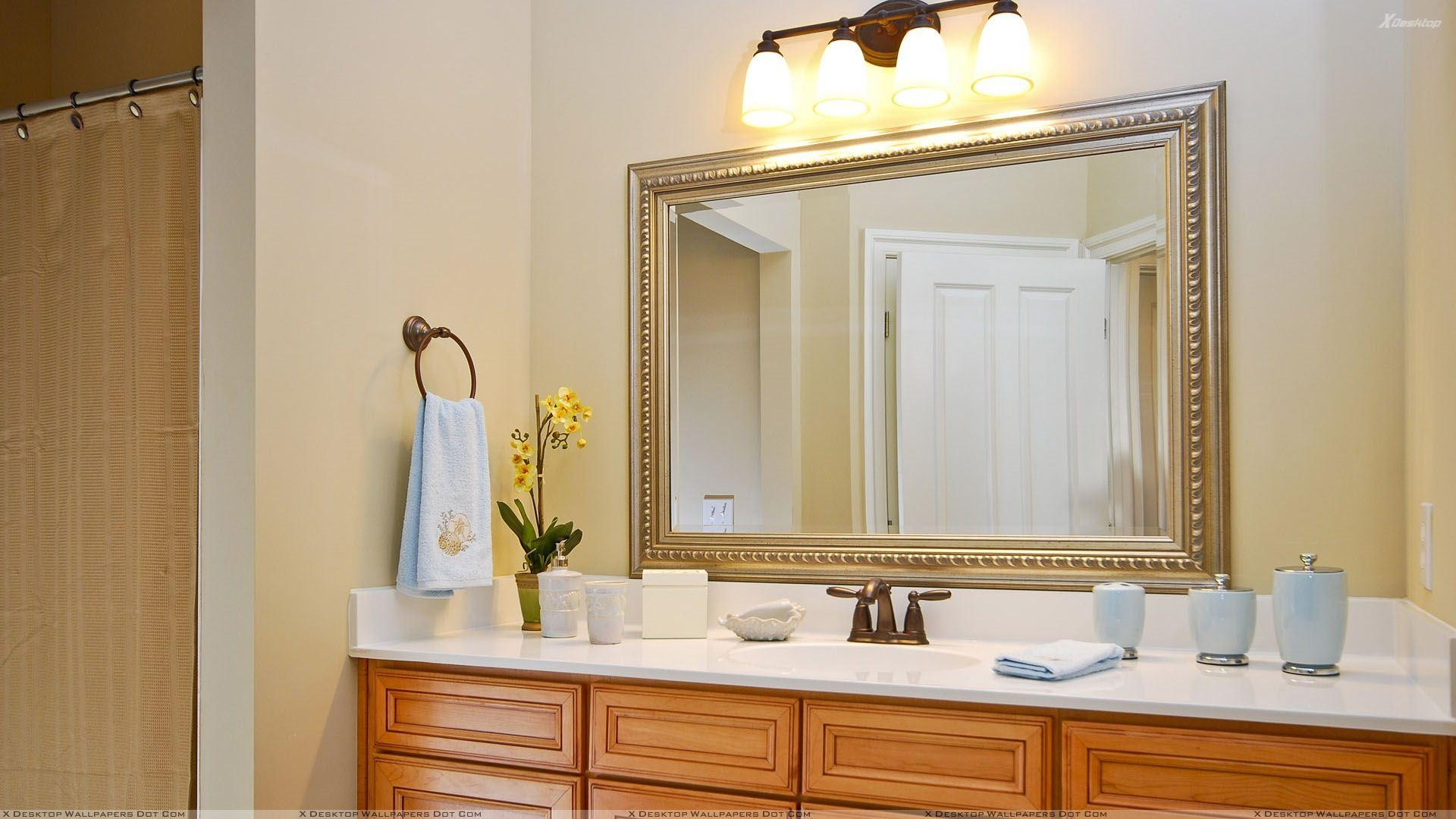 Bathroom : Beautiful Bathroom Vanity Mirrors Decorative Mirrors Regarding  Decorative Mirrors For Bathroom Vanity (Image