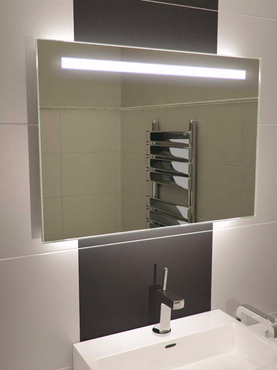 Bathroom Cabinets : Argent Wide Demisting Bathroom Mirrors Light With Regard To Bathroom Mirrors Lights (View 19 of 20)