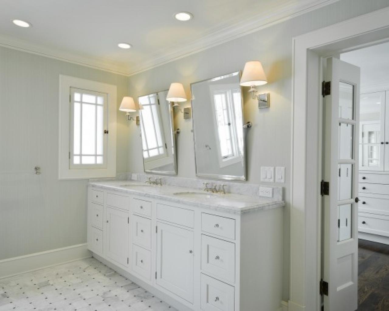 Bathroom Cabinets : Astonishing Twin Bathroom Vanity Mirrors Regarding Bathroom Vanity Mirrors (Image 3 of 20)