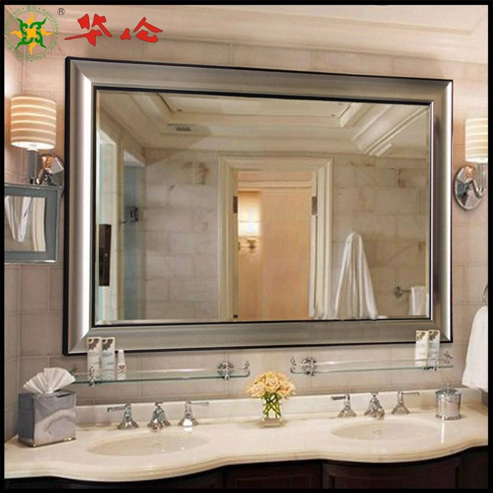 Bathroom Cabinets : Awesome Ideas Large Mirrors For Bathrooms For Bathroom Extension Mirrors (Image 7 of 20)