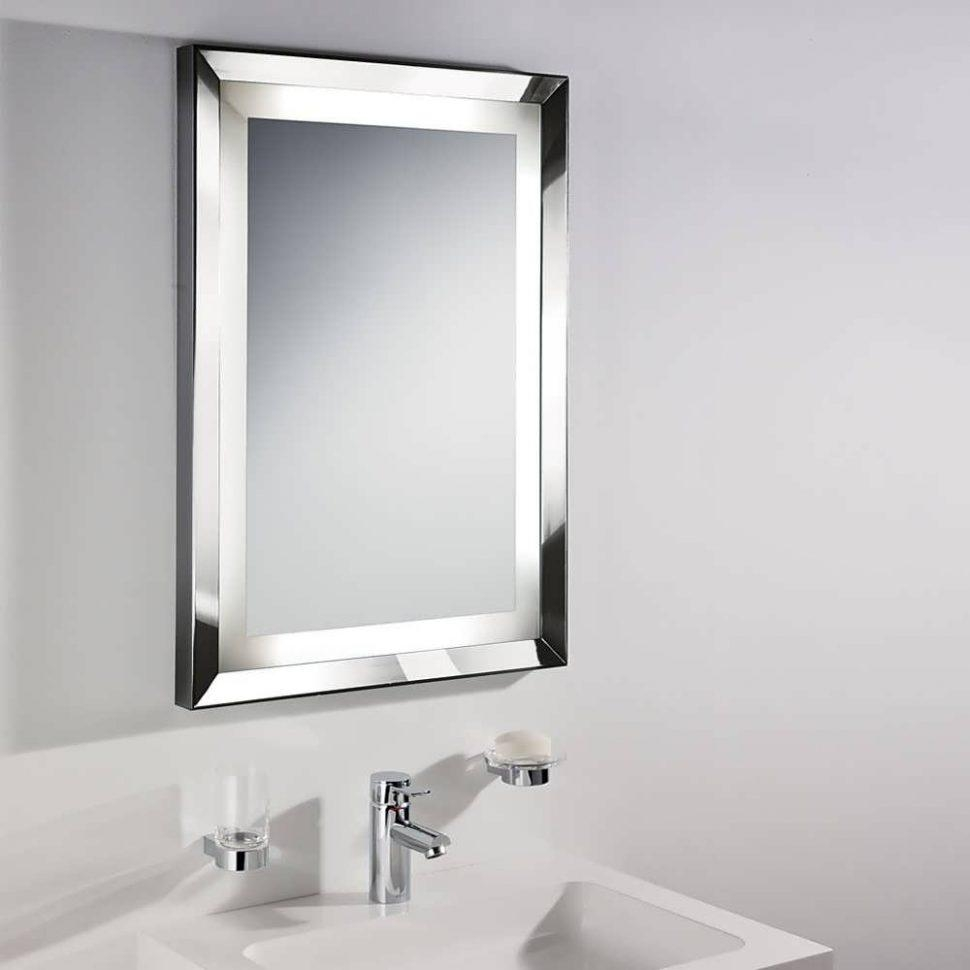 Bathroom Cabinets : Bathroom Light Mirror Stainless Steel Bathroom Within Large Flat Bathroom Mirrors (Image 2 of 20)
