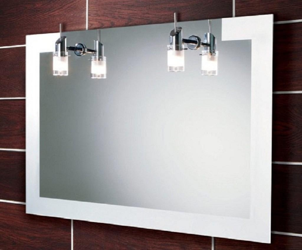 Bathroom Cabinets : Bathroom Mirror Lights Lighting For Bathroom Throughout Bathroom Mirrors Lights (View 10 of 20)