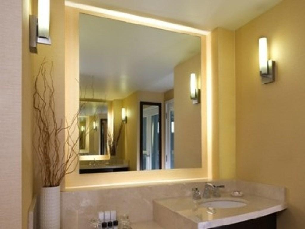 Modern Led Mirror Front Make Up Bathroom Vanity Light Wall: 20 Best Ideas Light Up Bathroom Mirrors