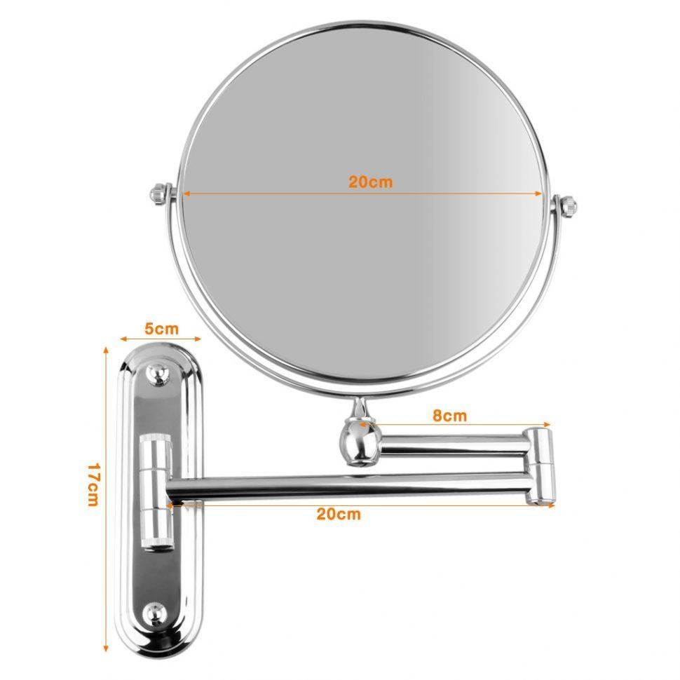 Bathroom Cabinets : Best Bathroom Wall Mounted Adjustable Bathroom For Adjustable Bathroom Mirrors (Image 7 of 20)