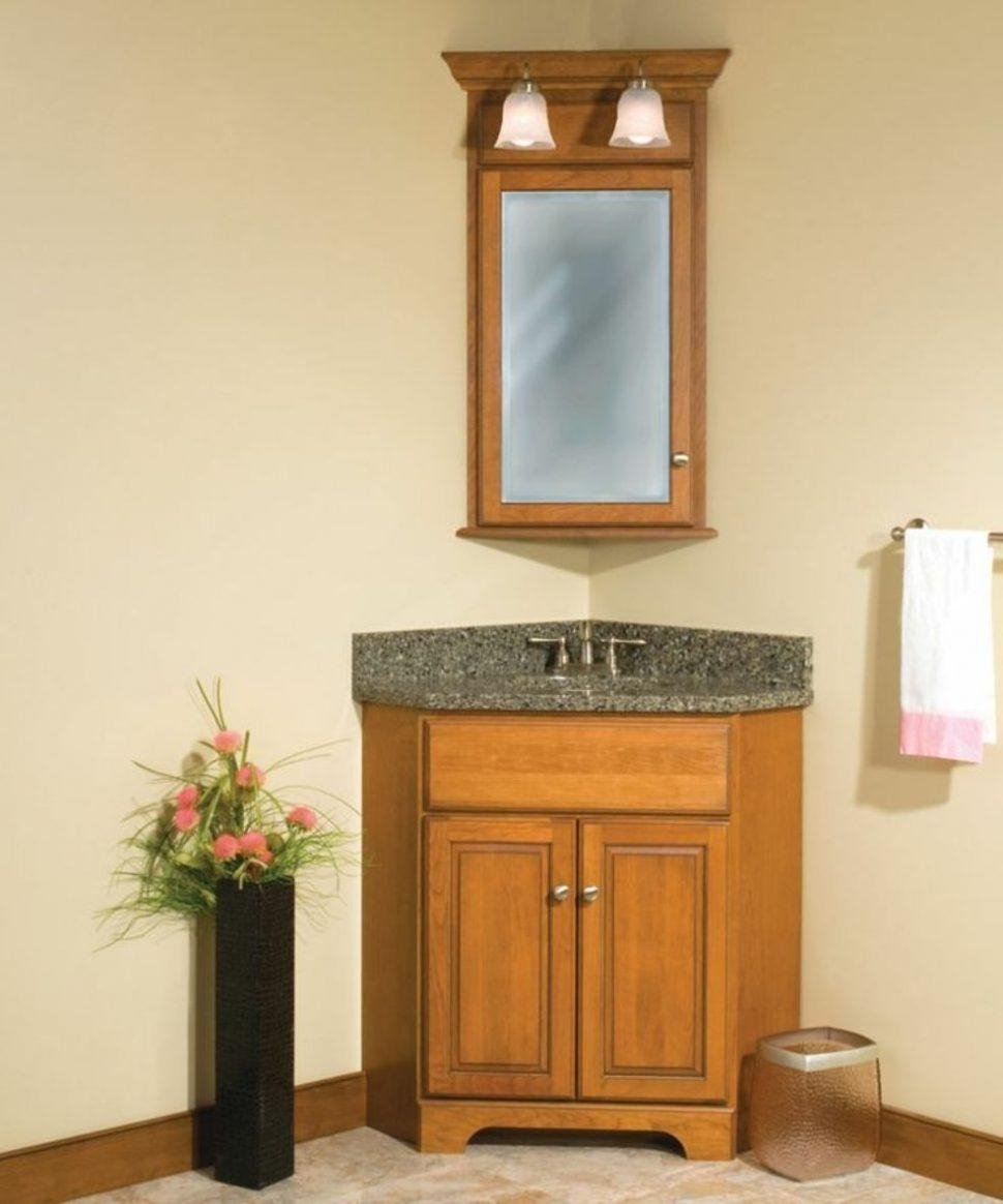 Bathroom Cabinets : Corner Mirrors For Bathrooms Bathroom Wall For Corner Mirrors (Image 3 of 20)
