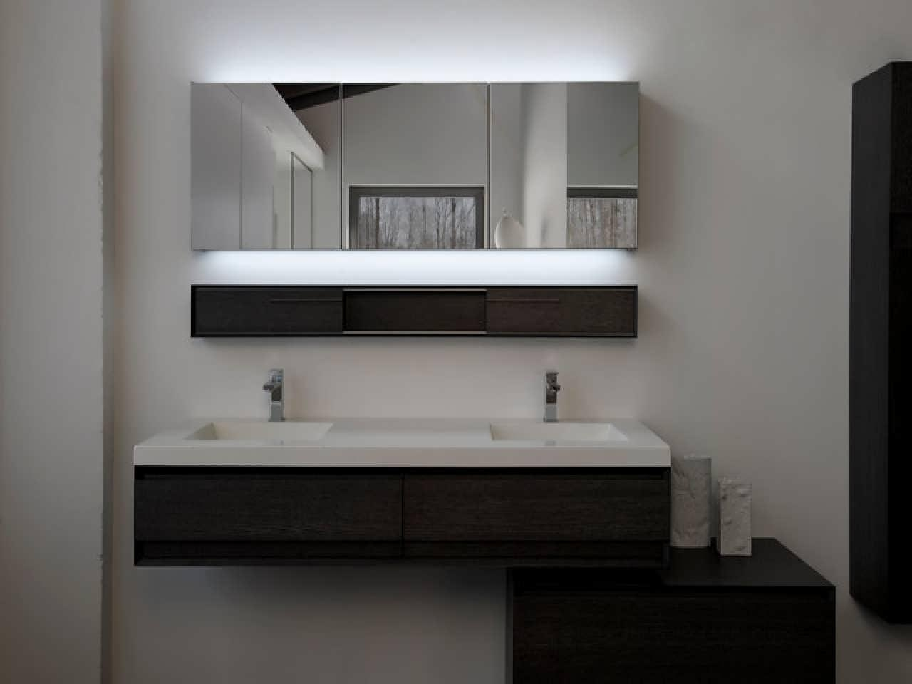 Bathroom Cabinets : Gold Bathroom Mirror Commercial Toilet Mirrors Within Commercial Bathroom Mirrors (Image 7 of 20)