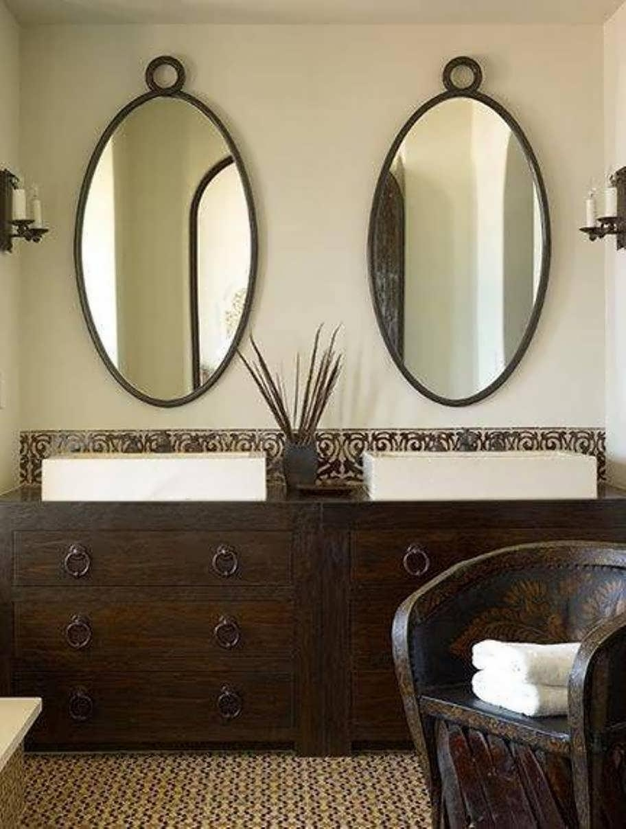 Bathroom Cabinets : Lavatory Mirror Shower Mirror Mirror Wall In Corner Mirrors (Image 10 of 20)