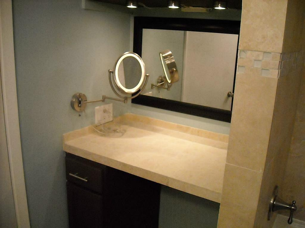 lighted vanity wall mirrors mirror ideas 22466