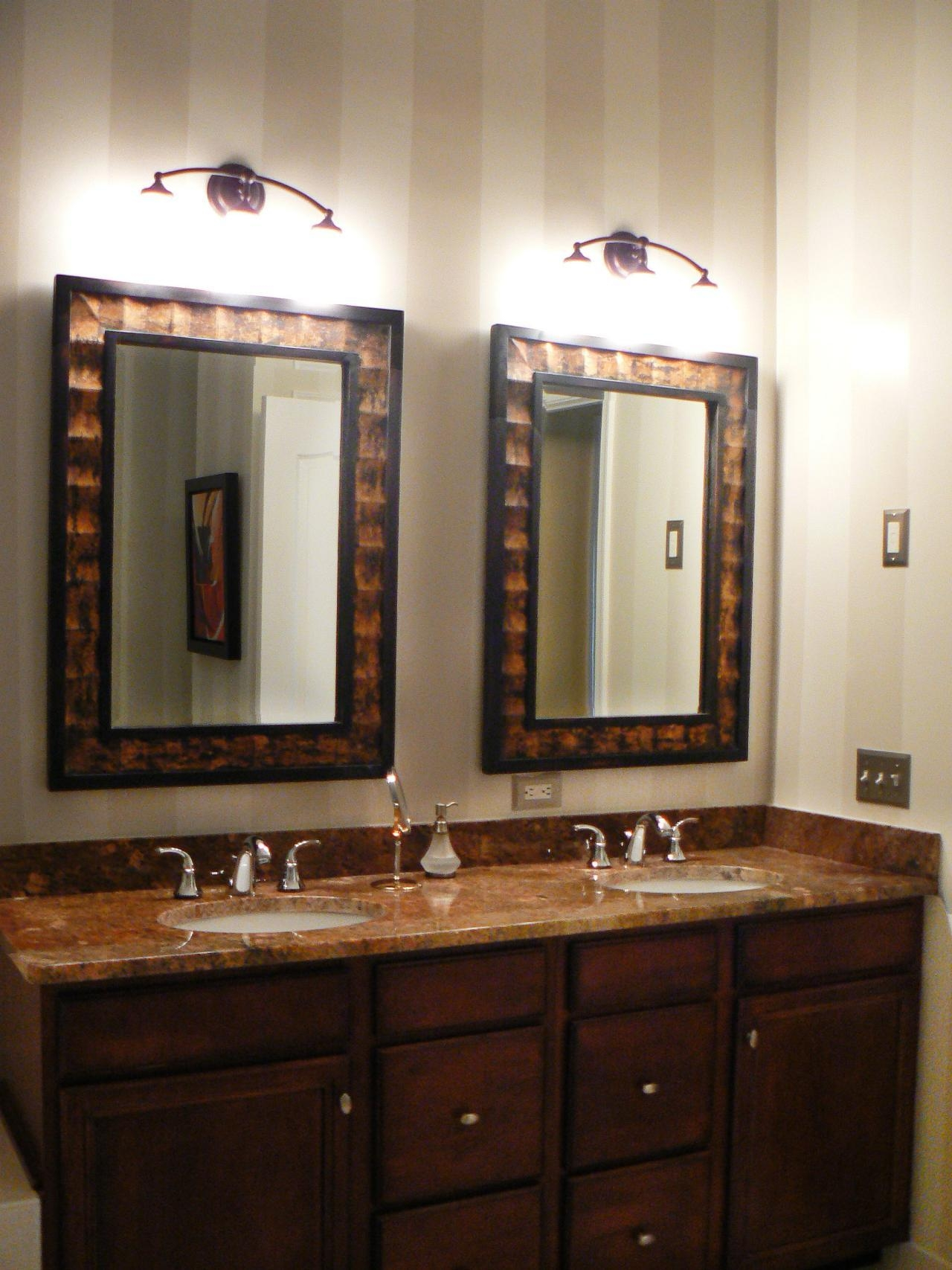 Bathroom Cabinets : Mirror Borders Large Decorative Mirrors Within Decorative Mirrors For Bathroom Vanity (Image 10 of 20)