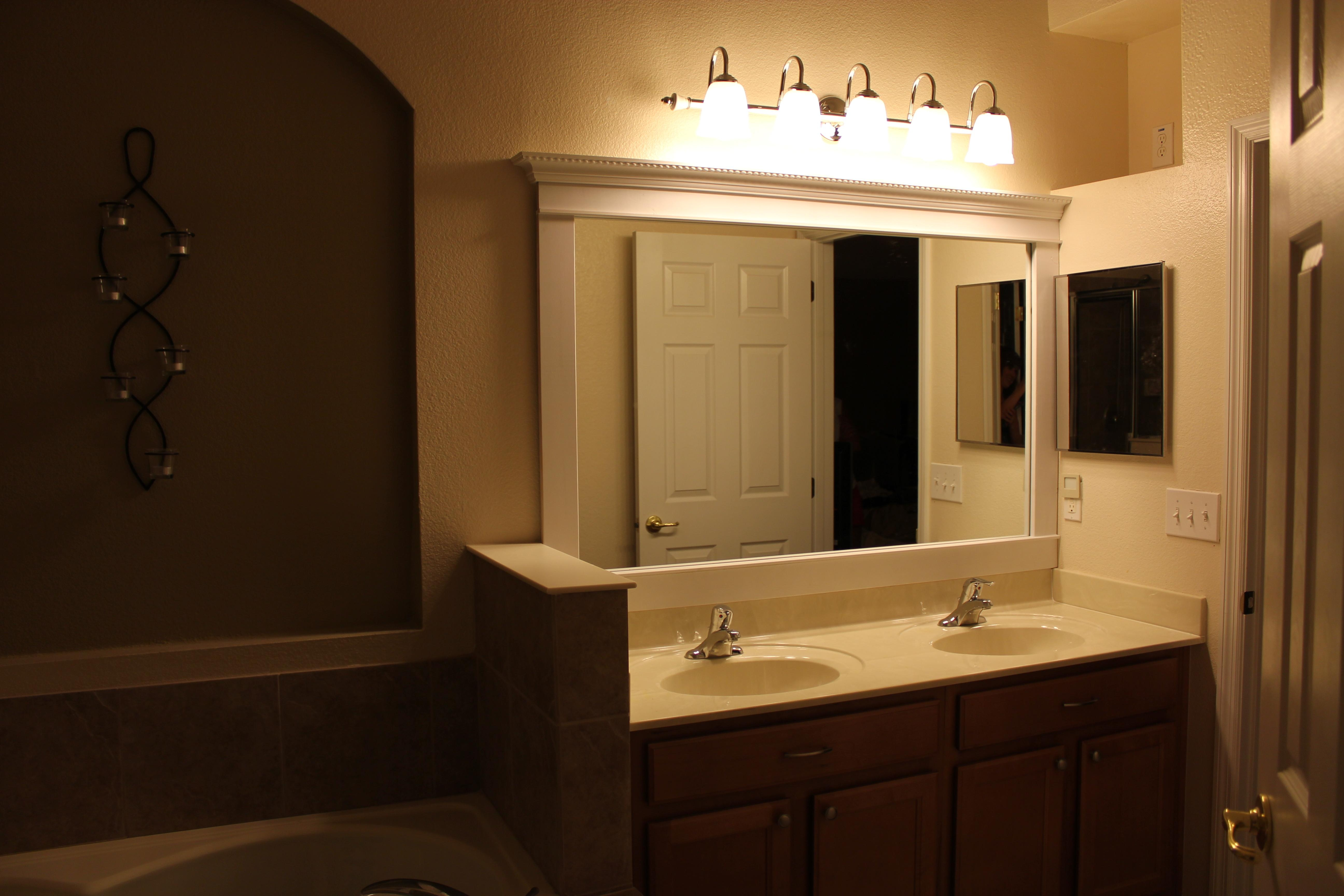 Bathroom Cabinets : Neoteric Design Inspiration Bathroom Mirrors Regarding Lights For Bathroom Mirrors (Image 6 of 20)