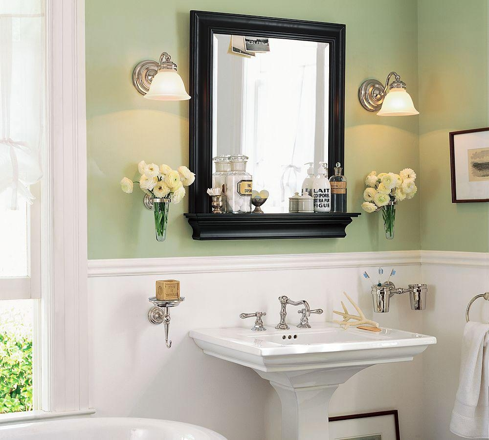 Bathroom Cabinets : Rectangular Extension Mirror From Restoration With Regard To Bathroom Extension Mirrors (Image 11 of 20)