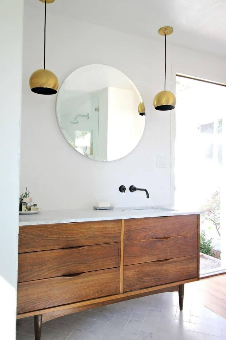 Bathroom Cabinets : Standard Bathroom Mirror Size Flat Bathroom Within Large Flat Bathroom Mirrors (Image 11 of 20)
