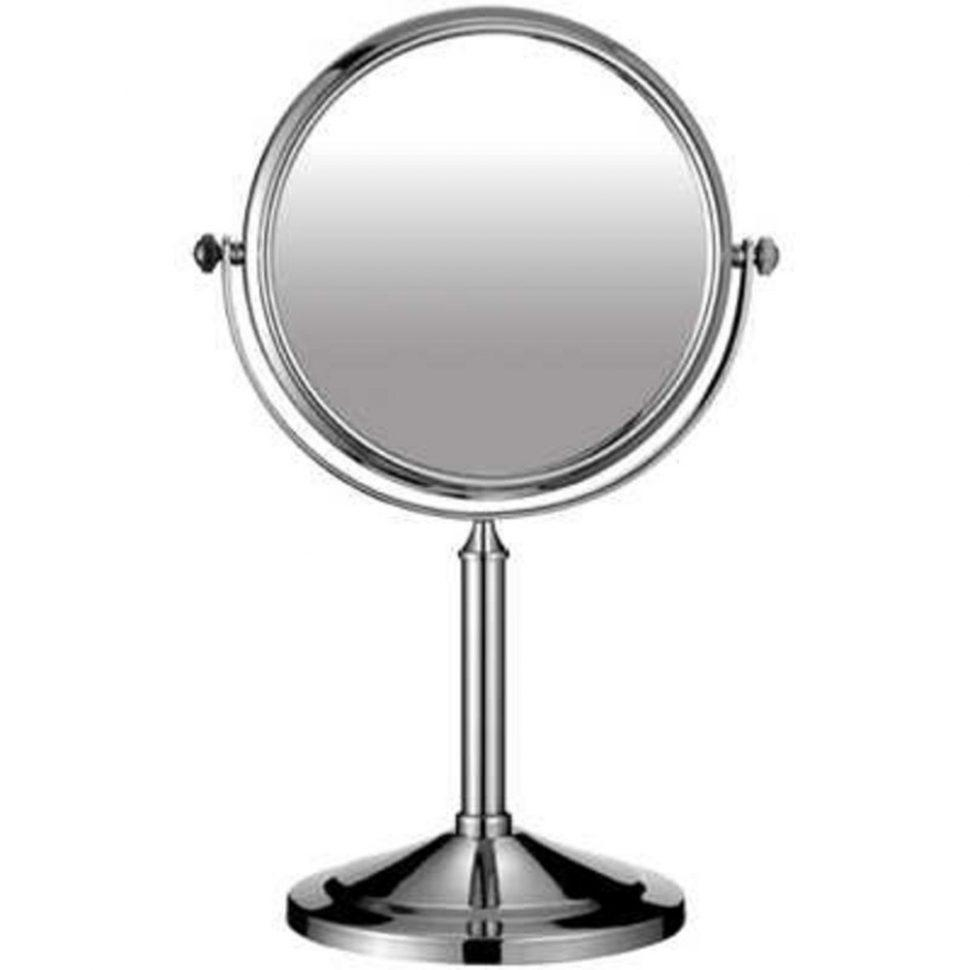 Bathroom Cabinets : Standing Chrome Swivel Bathroom Shaving Mirror With Regard To Free Standing Bathroom Mirrors (Image 7 of 20)