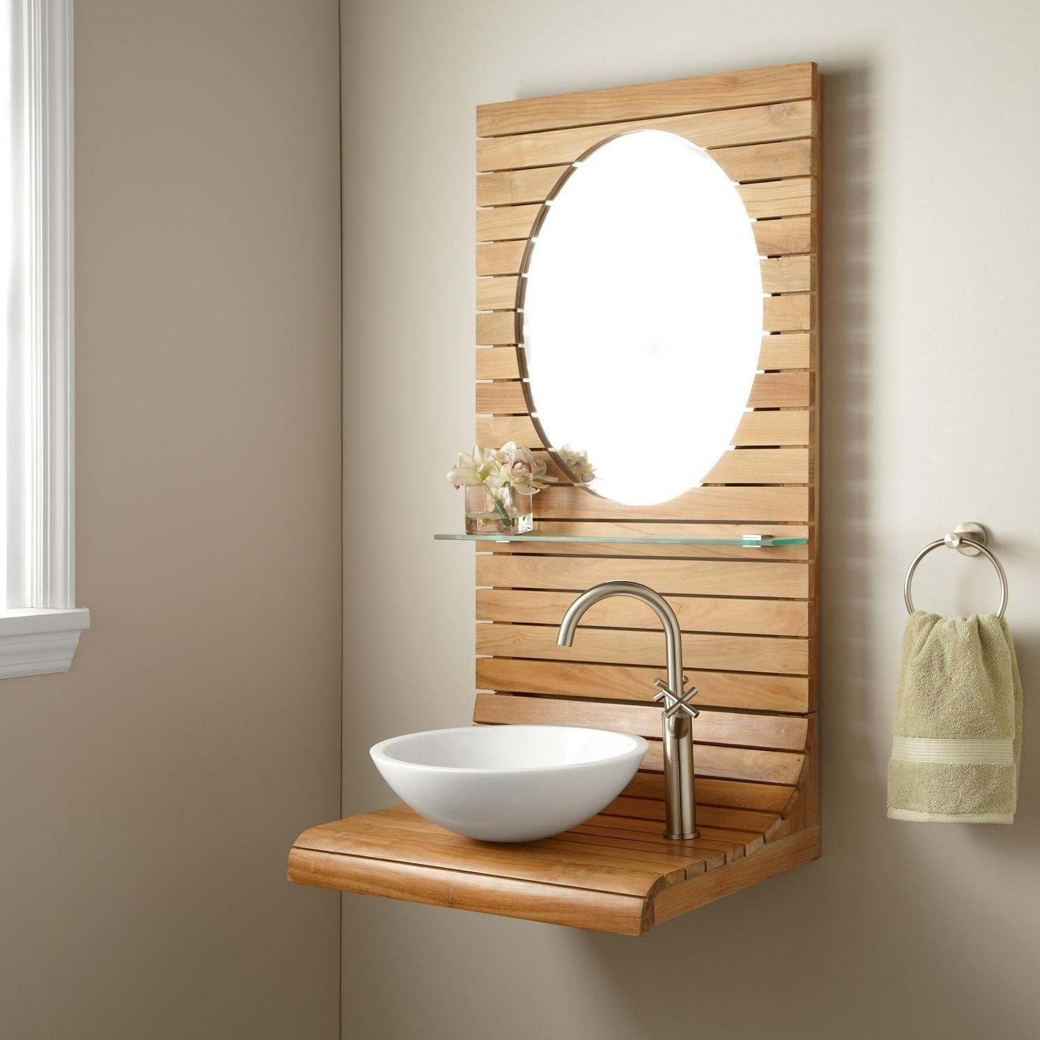 Bathroom Cabinets : Wall Mounted Bathroom Cabinet Commercial With Commercial Bathroom Mirrors (Image 9 of 20)