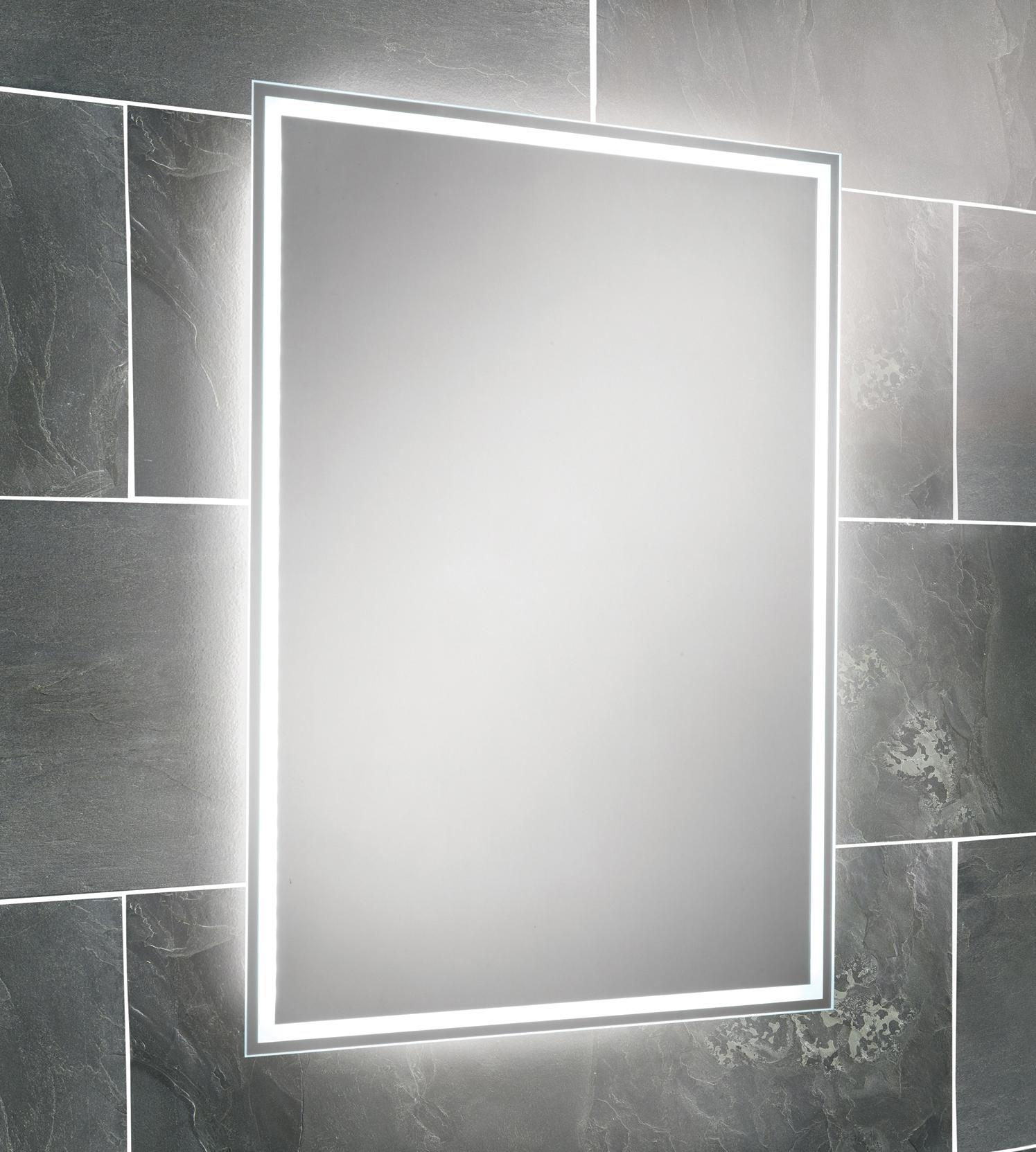 Bathroom : Clever Design Bathroom Mirror Led Lights Strip Demister Throughout Led Illuminated Bathroom Mirrors (Image 2 of 20)
