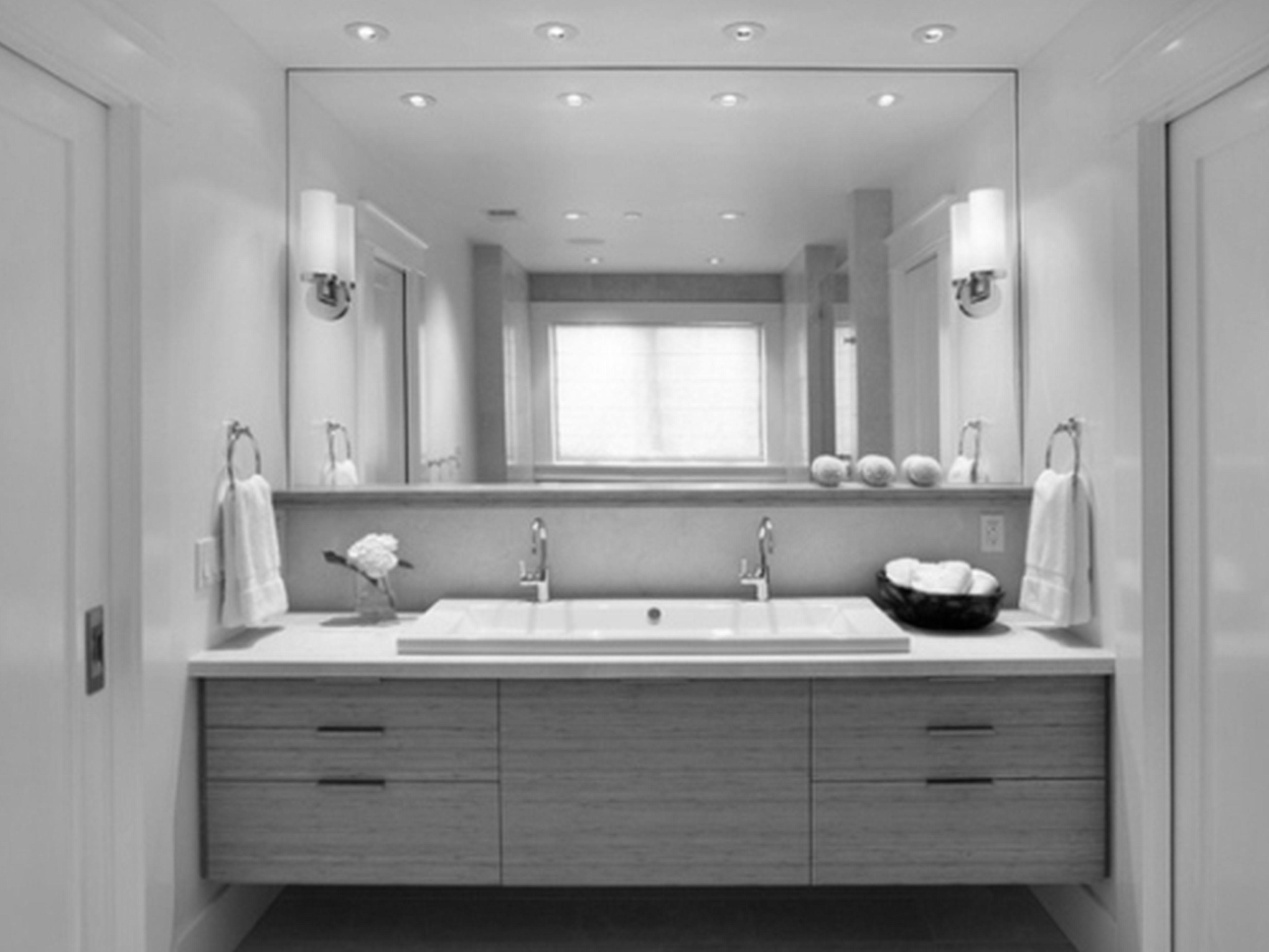 20 ideas of modern bathroom mirrors mirror ideas - Modern vanity mirrors for bathroom ...
