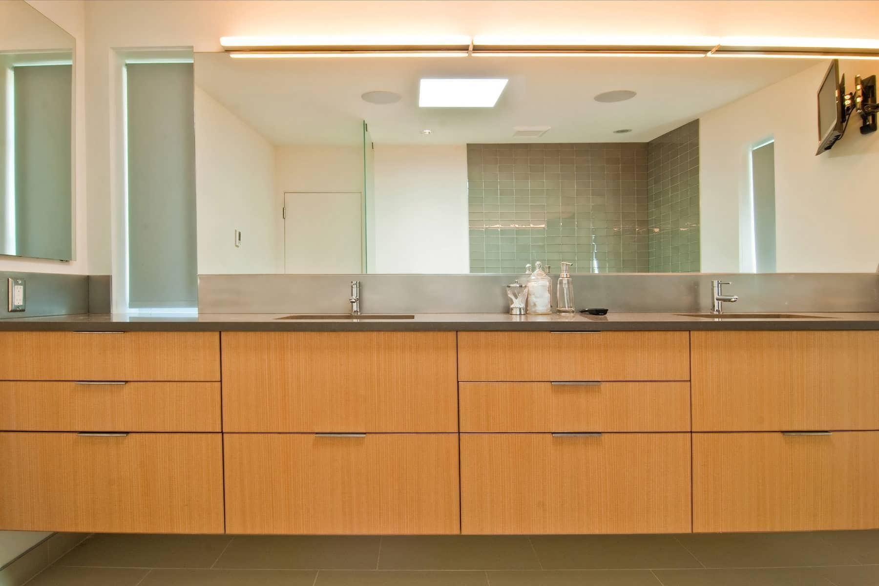 Bathroom Design : Amazing Bathroom Vanities And Cabinets Bathroom Regarding Custom Bathroom Vanity Mirrors (View 11 of 20)