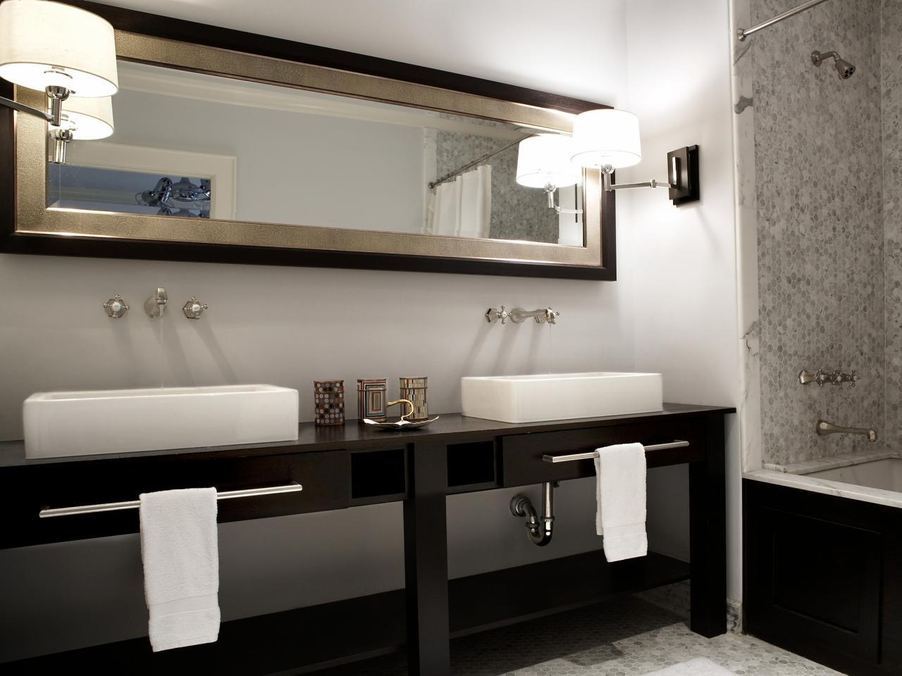 Bathroom Design : Amazing Cool Bathroom Mirrors Frameless Mirror For Custom Bathroom Vanity Mirrors (View 20 of 20)