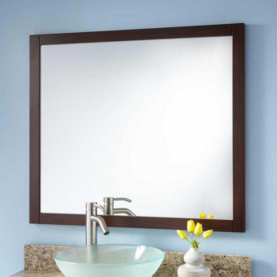 Bathroom : Edge Mirror Mc Black Frame Home Black Rectangular With Regard To Seattle Custom Mirrors (Image 4 of 20)