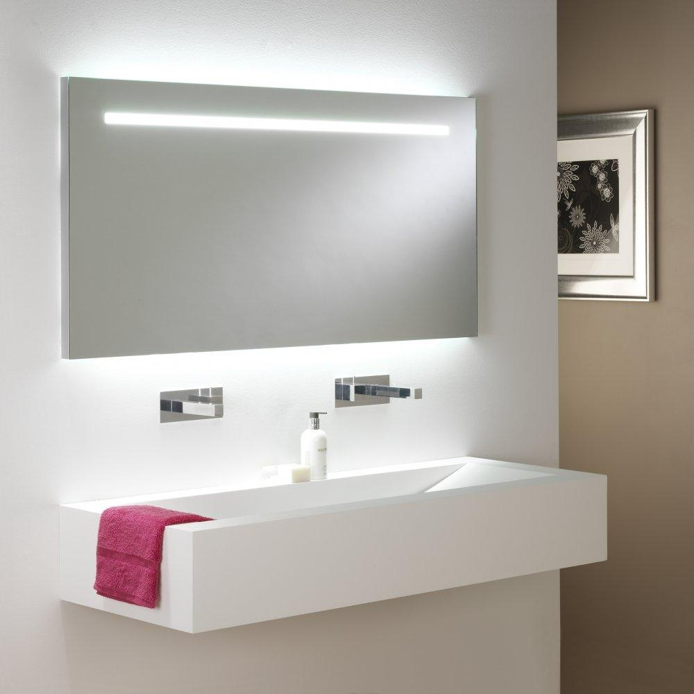 Bathroom : Enchanting Vertical Vanity Lighting Vertical Bathroom Pertaining To Modern Bath Mirrors (Image 3 of 20)