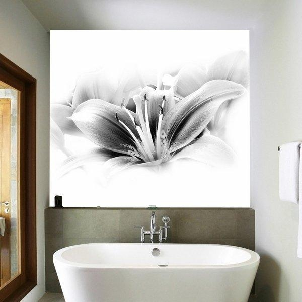 Bathroom: Glamorous Bathroom Wall Decor Ideas Bathroom Wall Art For Glamorous Bathroom Wall Art (Image 7 of 20)