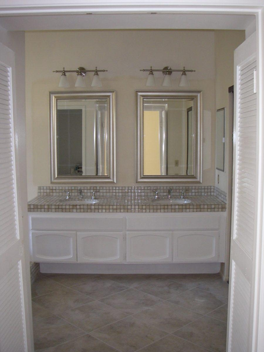 Bathroom: Gorgeous Double Vanity Mirrors For Bathroom With Inside Bathroom Vanities Mirrors (Image 13 of 20)
