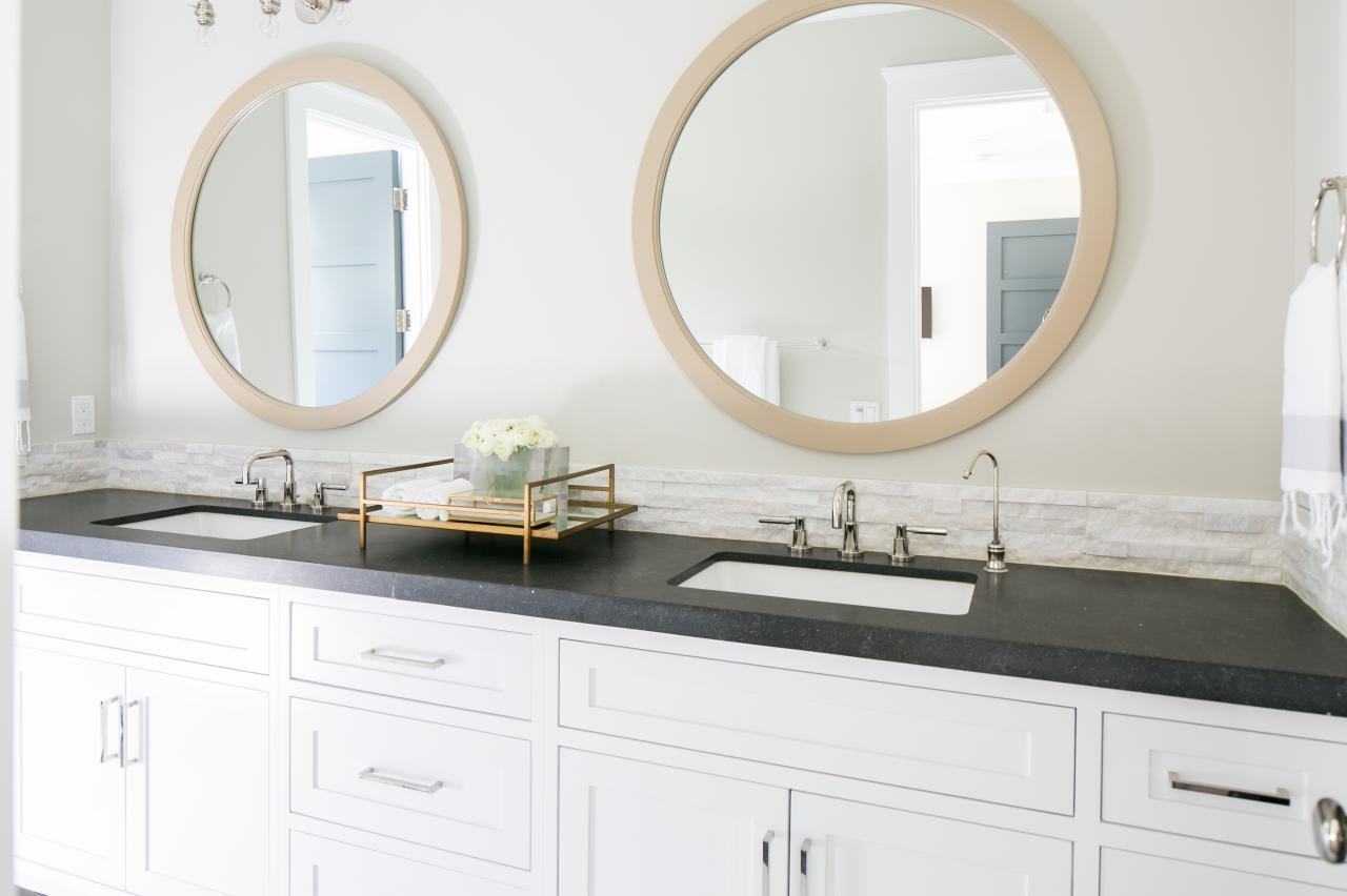 Bathroom : Ideas Of Round Mirror Bathroom Vanities Modern Bathroom With Regard To Round Mirrors For Bathroom (Image 2 of 20)