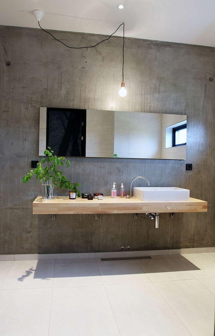 Bathroom : Industrial Bathroom Vanity 41 Pertaining To Modern Bath Mirrors (Image 4 of 20)