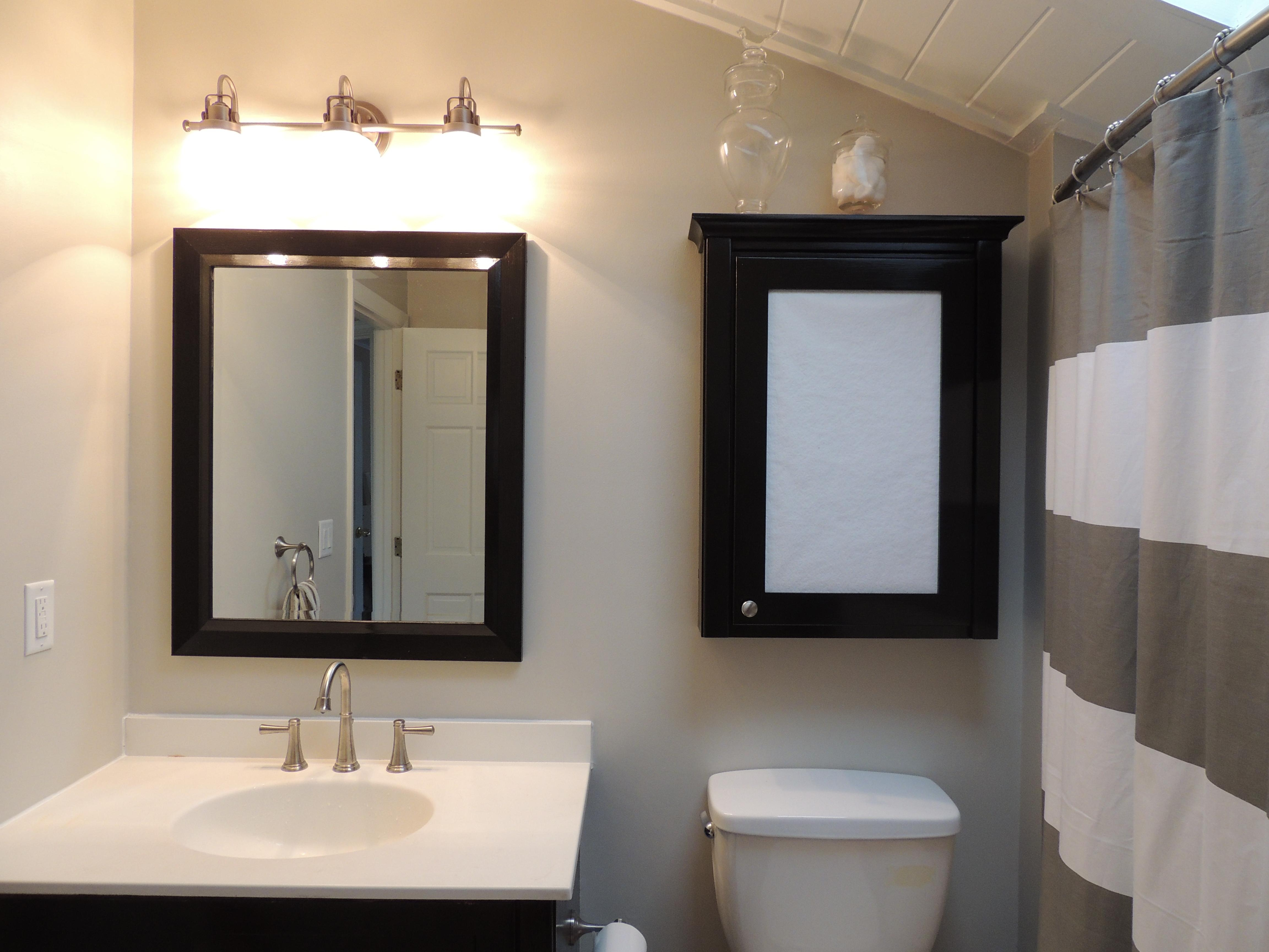 Bathroom: Inspiring Bathroom With Cool Lowes Bathroom Lighting In Bathroom Lighting And Mirrors (View 16 of 20)