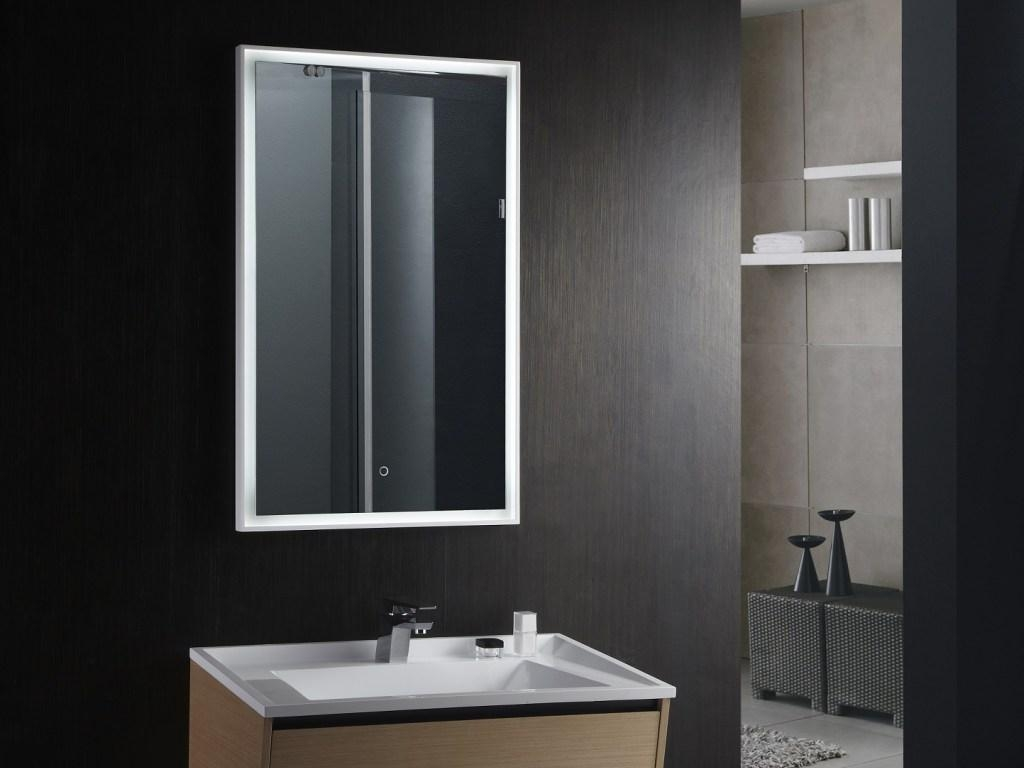 Bathroom : Led Bathroom Mirror 51 Modern Bathroom Mirrors Throughout Led Lit Bathroom Mirrors (Image 5 of 20)
