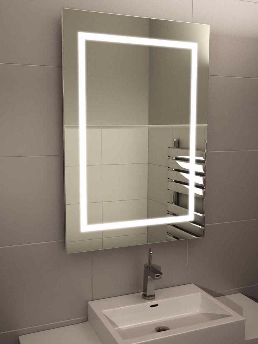 Bathroom : Led Bathroom Mirrors 6 Bathroom Mirror Ideas With White Intended For Tall Bathroom Mirrors (View 10 of 20)