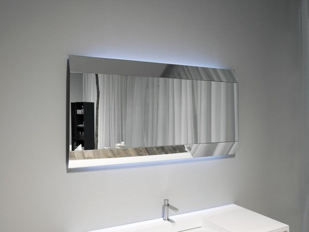 Bathroom : Led Bathroom Mirrors 6 Bathroom Mirror Ideas With White With Free Standing Bathroom Mirrors (Image 2 of 20)