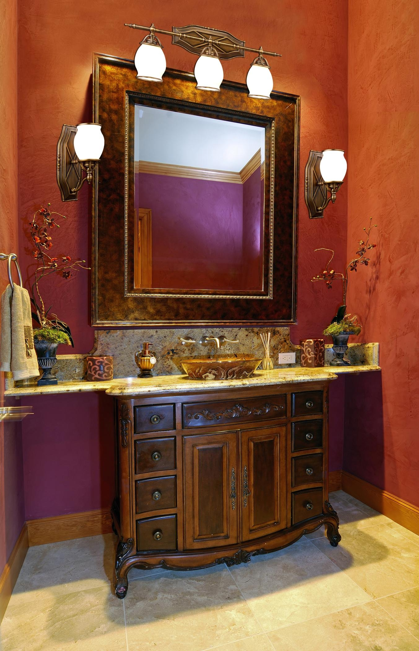 Bathroom Lighting And Mirrors | Bathroom Design Ideas Intended For Bathroom Lighting And Mirrors (Image 8 of 20)
