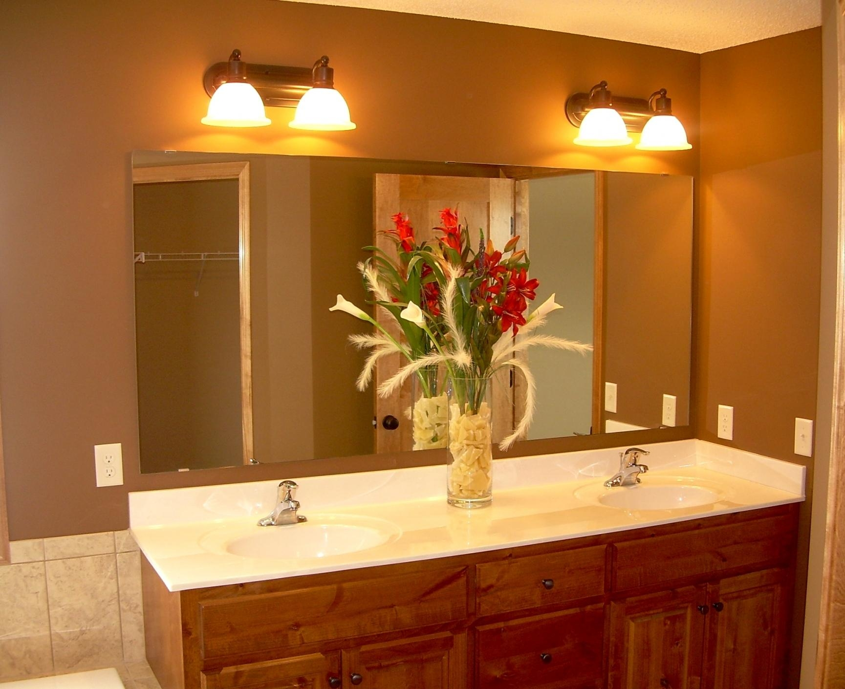 Bathroom Lighting And Mirrors Design Best 25 Bathroom Vanity Within Bathroom Lights And Mirrors (Image 8 of 20)